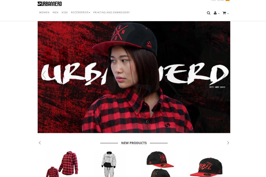 Urbannerd online Shop